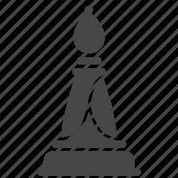 bishop, chess, game, strategic, strategy icon