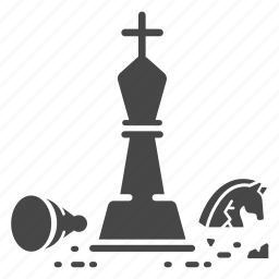 beat, chess, game, king, strategy, war, win icon