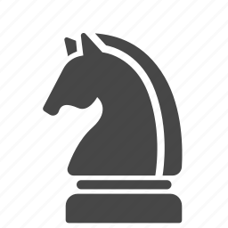 chess, game, horse, knight, strategic, strategy, tactics icon