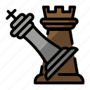attack, checkmate, chess, devence, game icon