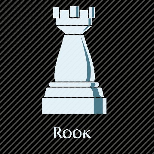 checks, game, rook, sign, smart, thinking, white icon