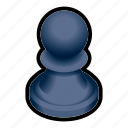 board, chess, game, pawn, piece icon