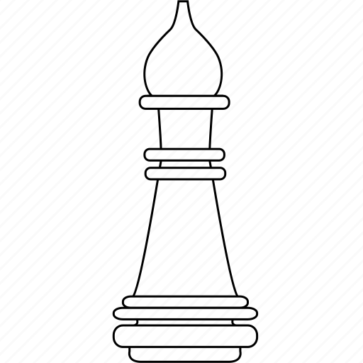 bishop, chess, figure, game, officer, piece, strategy icon