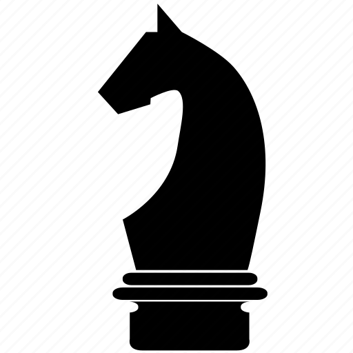 chess, figure, game, horse, knight, piece, strategy icon
