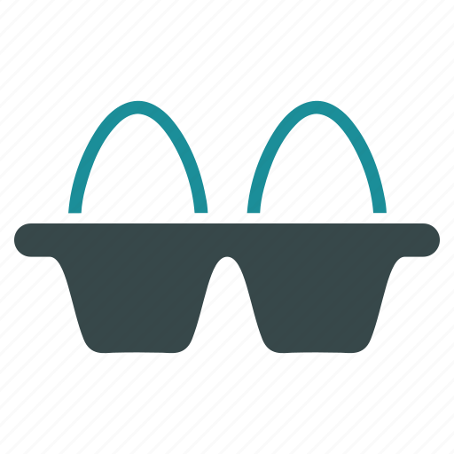 box, carton, egg pack, eggs, food, package, packaging icon