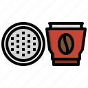 coffee, pods, drink, food, beans