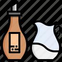 sugar, milk, food, kitchen, coffee