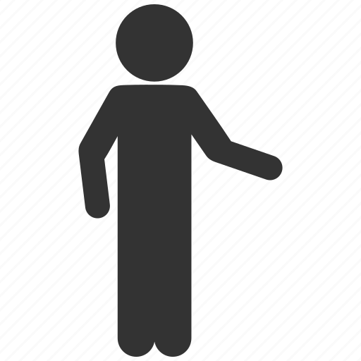 boy, guy, hospitality, invitation, man pose, user account, welcome icon