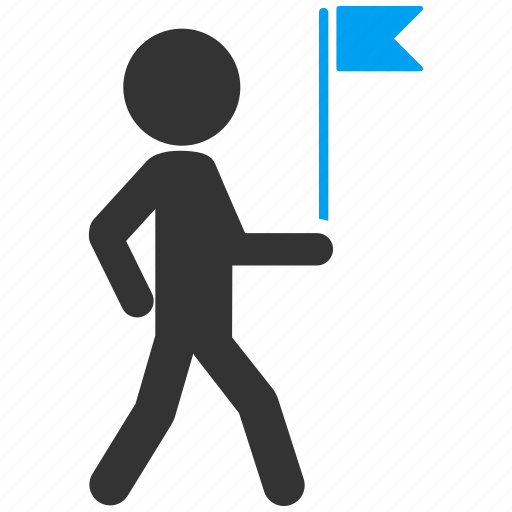 commander, flag man, meeting, national leader, patriotism, person, tourist guide icon