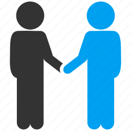 agreement, business contacts, communication, contract, friends, handshake, meeting icon