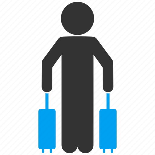 child, departure, journey, passenger, tourism, tourist, travel icon