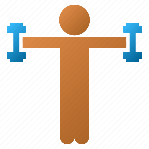 activity, exercise, fitness, kid, sport man, sportsman, training icon