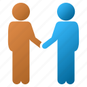 agreement, business contacts, communication, contract, friends, handshake, meeting