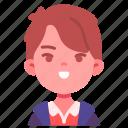 avatar, boy, children, kid, person, smile, youth icon