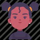 avatar, children, earrings, girl, kid, youth