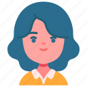 avatar, children, girl, kid, kind, person, youth icon