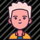 avatar, boy, children, kid, man, person, youth icon