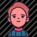 avatar, boy, children, kid, person, sweater, youth icon