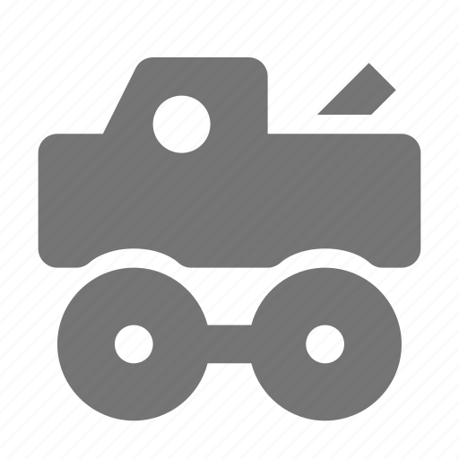 children, toy, truck icon