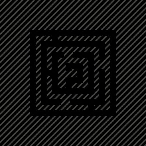 game, intricacy, labirynth, labyrinth, logic, maze, strategy icon