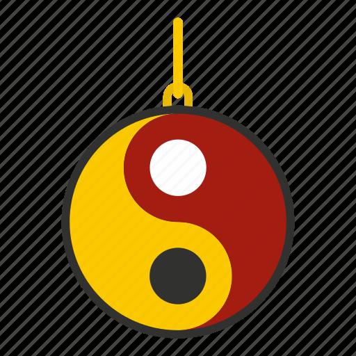 balance, buddhism, culture, harmony, religion, yang, yin icon