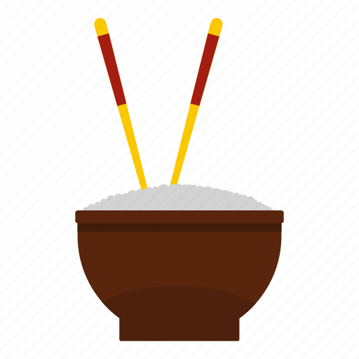 asian, chinese, chopstick, cuisine, food, healthy, rice icon