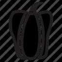 annuum, bell, capsicum, food, pepper, veggies icon