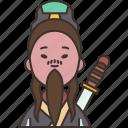 lin, xie, chun, mythology, chinese
