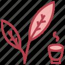 and, garden, green, leaf, leafe, leaves, tea