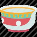 bowl, ceramic, kitchenware, chinese, oriental icon
