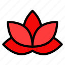 asian, chinese, culture, lotus, new year icon