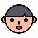 asian, boy, chinese, culture, new year, smile icon