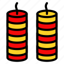 asian, chinese, culture, firecracker, firework, new year icon