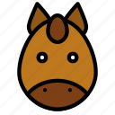 animal, chinese, culture, horse, new year, zodiac icon
