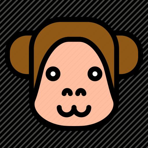 animal, asian, chinese, culture, monkey, new year, zodiac icon