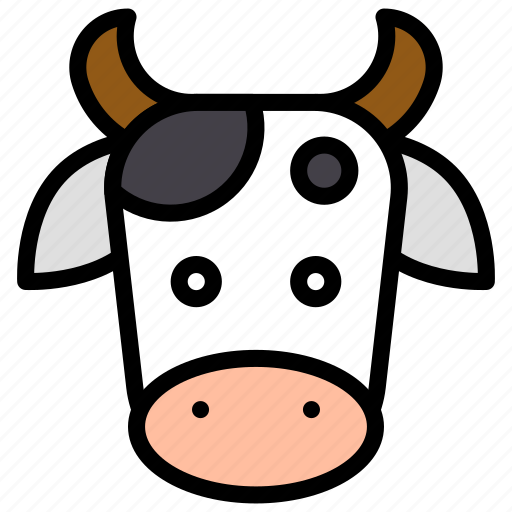 animal, chinese, cow, culture, new year, ox, zodiac icon