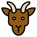 animal, chinese, culture, goat, new year, zodiac icon