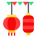 asian, chinese, culture, lamp, lantern, new year icon