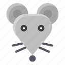 animal, chinese, culture, mouse, new year, rat, zodiac icon