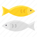 chinese, couple, culture, fish, new year icon