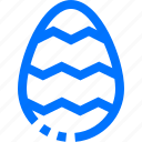 design, easter, egg, pattern icon