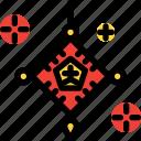 amulet, celebration, chinese, new year icon