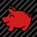 pig, piggy, pork