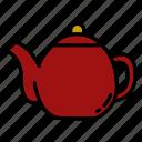 teapot, teakettle, kitchen