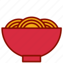 chinese, new, noodles, year icon