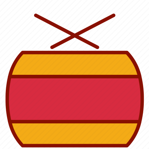 Chinese, drum, new, year icon - Download on Iconfinder