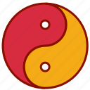 chinese, new, yan, year, yin icon