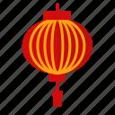 chinese, lantern, new, year icon