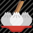 dumpling, food, and, restaurant, dessert, jam, sweet icon