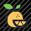 food, fruit, new year, tangerine